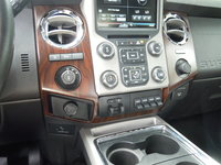 Picture of 2016 Ford F-350 Super Duty Lariat SuperCab 4WD, interior, gallery_worthy