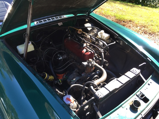 Picture of 1978 MG MGB Coupe, engine, gallery_worthy