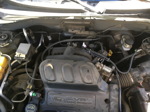 Picture of 2003 Ford Escape XLT FWD, engine, gallery_worthy