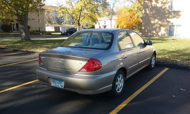 Picture of 2002 Kia Spectra LS