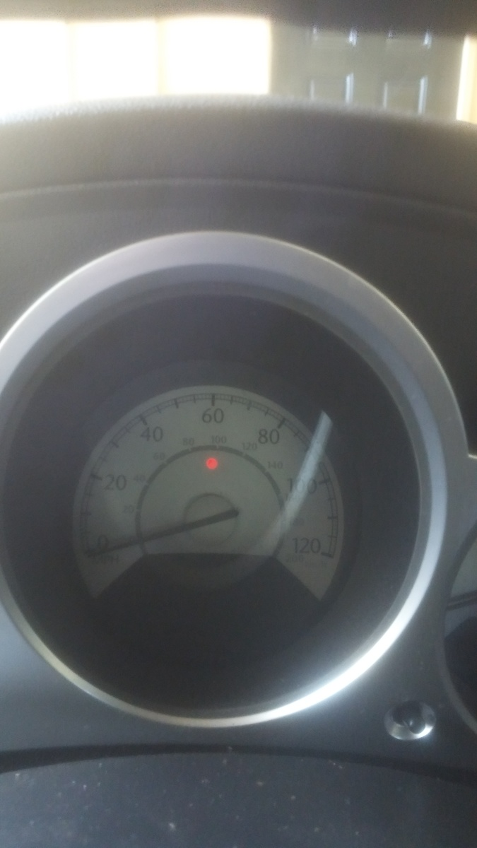 Chrysler Sebring Questions What Does It Mean If A Red Circle Light