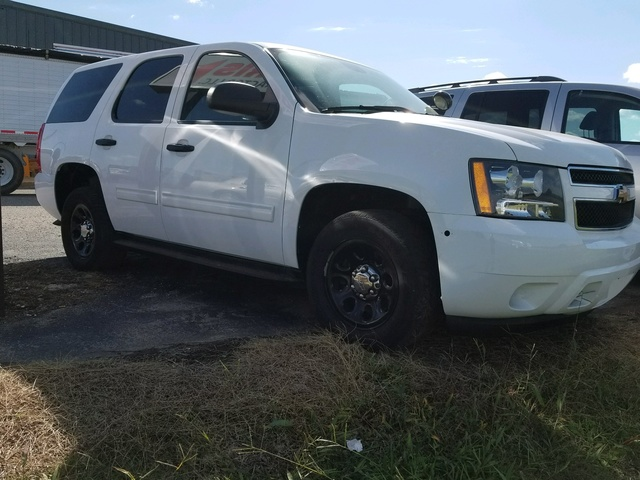 Picture of 2012 Chevrolet Tahoe Police