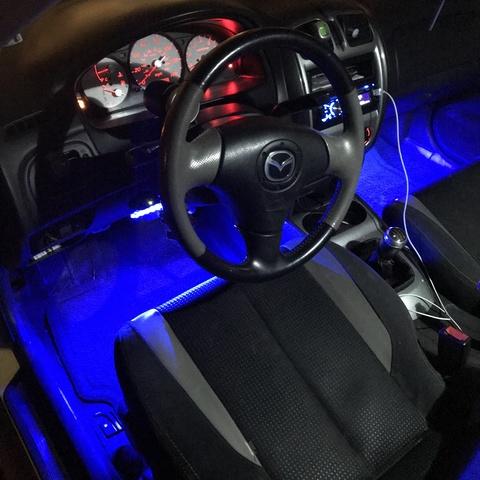 Picture of 2003 Mazda MAZDASPEED Protege 4 Dr Turbo Sedan (2003.5), interior, gallery_worthy