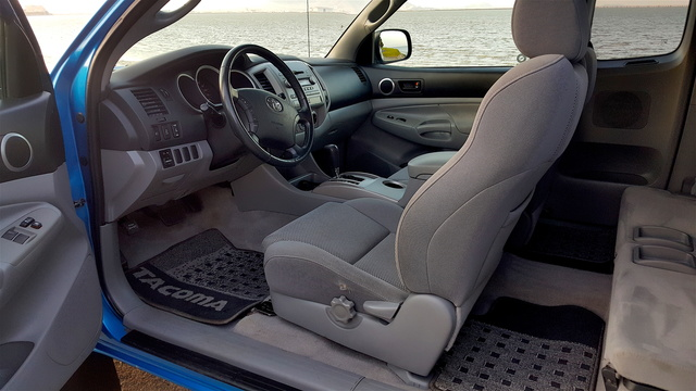 Elegant Picture Of Toyota Tacoma Access Cab V Wd Interior With Toyota Tacoma  Access Cab Interior