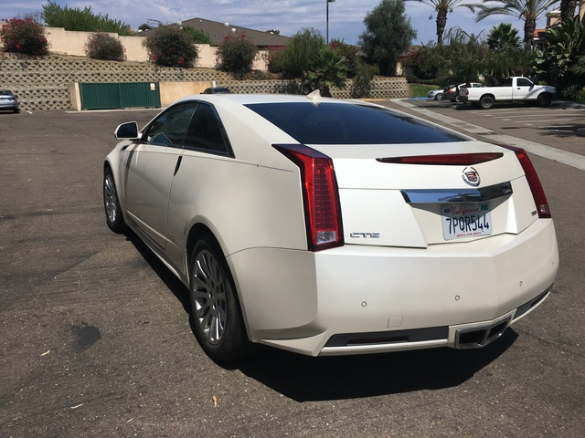 Picture of 2013 Cadillac CTS Coupe 3.6L RWD