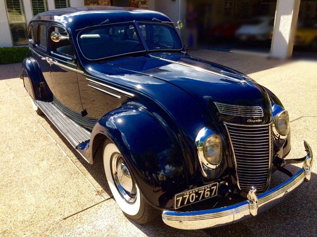 1937 Chrysler Imperial Airflow Sedan | S32 | Indy 2016  |1937 Chrysler Imperial