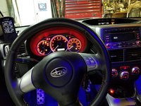 Picture of 2009 Subaru Impreza WRX Base, interior, gallery_worthy