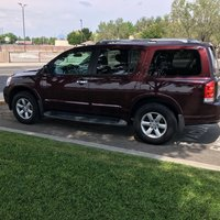 Picture of 2014 Nissan Armada SV 4WD, exterior, gallery_worthy