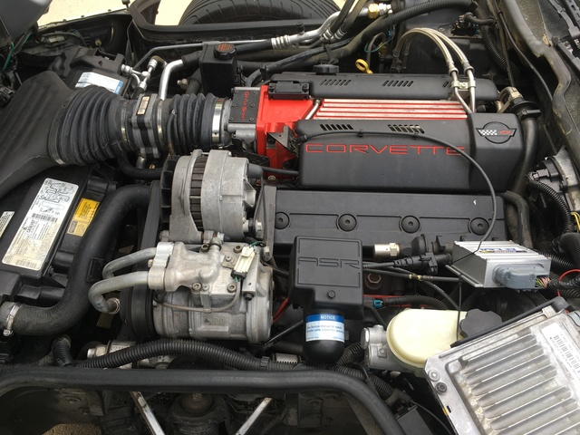 Picture of 1996 Chevrolet Corvette Convertible RWD, engine, gallery_worthy