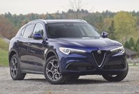 Front 3/4 of the 2018 Alfa Romeo Stelvio, exterior, gallery_worthy