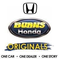 Burns Honda logo