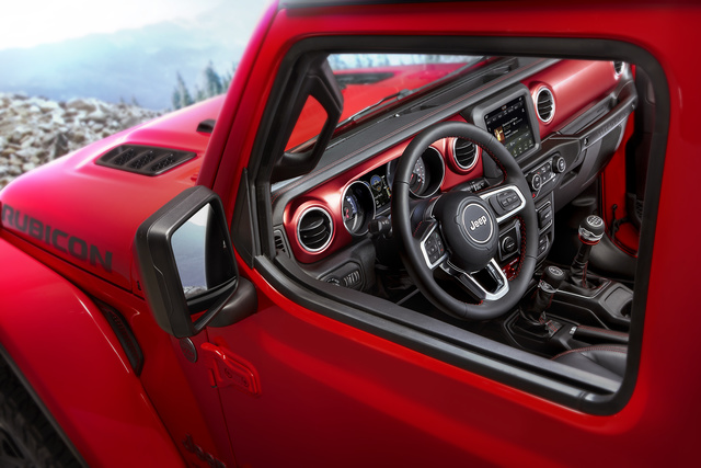 Etonnant Dash Layout Of The 2018 Jeep Wrangler Rubicon, Interior, Manufacturer,  Gallery_worthy
