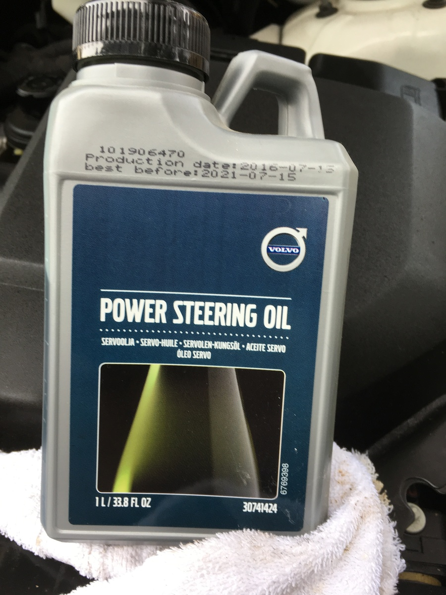 Volvo XC90 Questions - power steering fluid - CarGurus