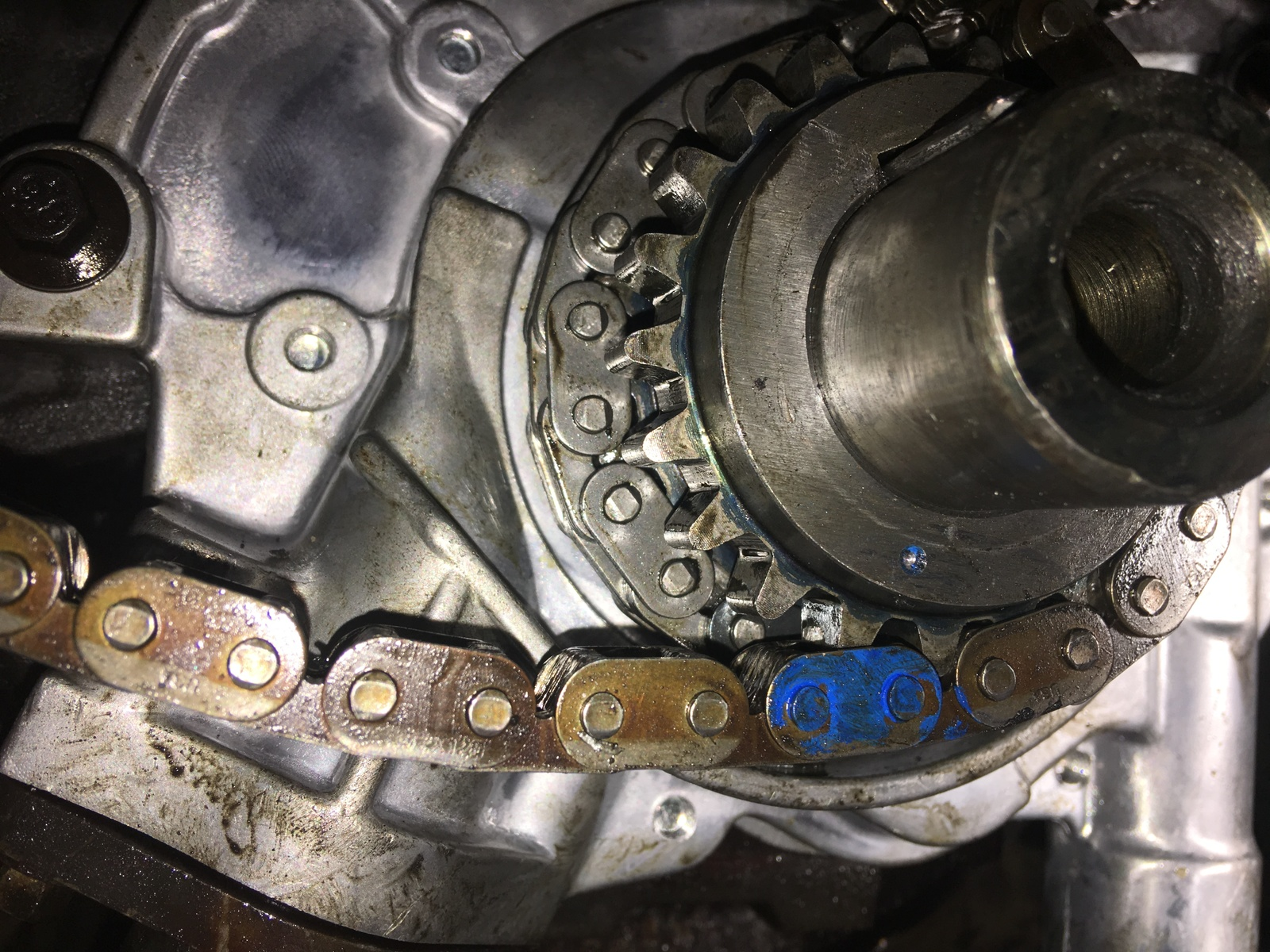 Ford F-150 Questions - F150 timing chain change now won't