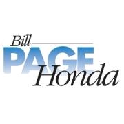 Bill Page Honda logo
