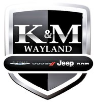 K&M Wayland Chrysler Dodge Jeep RAM logo