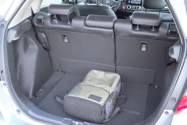 Rear cargo area of the 2018 Honda Fit, gallery_worthy