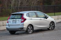 Rear 3/4 of the 2018 Honda Fit, exterior, gallery_worthy