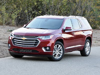 2018 Chevrolet Traverse High Country AWD, 2018 Chevrolet Traverse High Country in Cajun Red, exterior, gallery_worthy