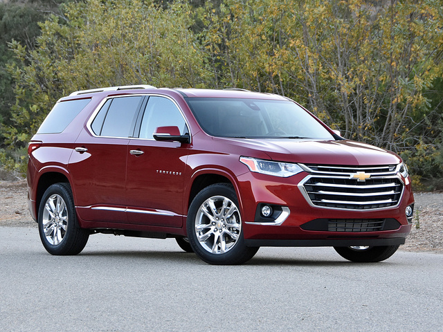2018 Chevrolet Traverse High Country in Cajun Red