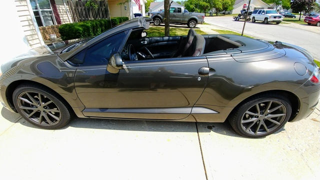 Picture of 2011 Mitsubishi Eclipse Spyder GS Sport, exterior, gallery_worthy
