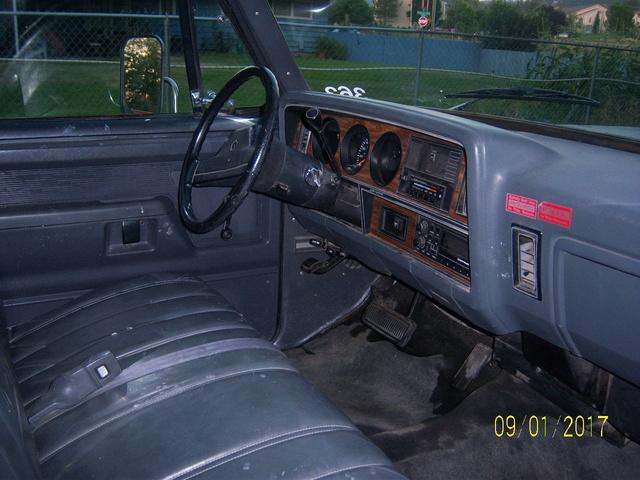 1990 Dodge Ram 350 Interior Pictures Cargurus