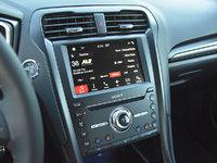 2018 Ford Fusion Sport AWD, 2018 Ford Fusion Sport Sync 3 radio display, interior, gallery_worthy