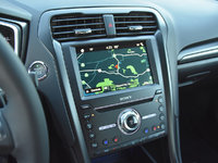 2018 Ford Fusion Sport AWD, 2018 Ford Fusion Sport Sync 3 navigation map display, interior, gallery_worthy