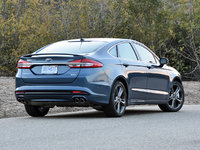 2018 Ford Fusion Sport AWD, 2018 Ford Fusion Sport in Blue Metallic, exterior, gallery_worthy