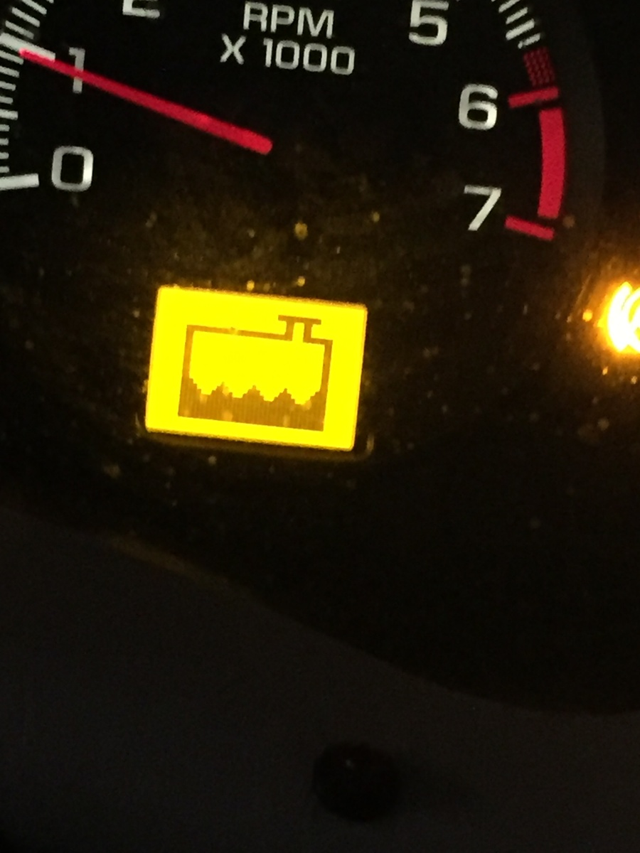Chevy impala warning lights
