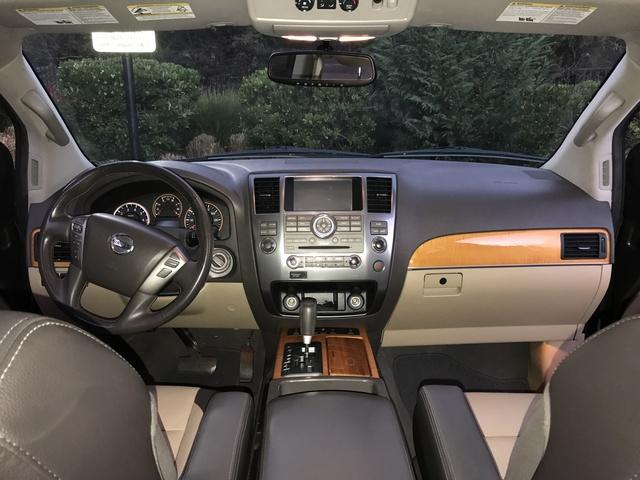 2014 nissan armada interior pictures cargurus - 2015 nissan armada platinum interior ...