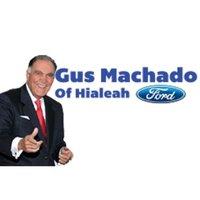 Gus Machado Ford of Hialeah logo
