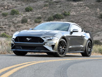 2018 Ford Mustang GT Premium, 2018 Ford Mustang GT Coupe in Magnetic paint, exterior, gallery_worthy