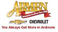 Armen Chevrolet of Ardmore logo