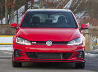 Front view of the 2018 Volkswagen GTI, exterior, interior, gallery_worthy