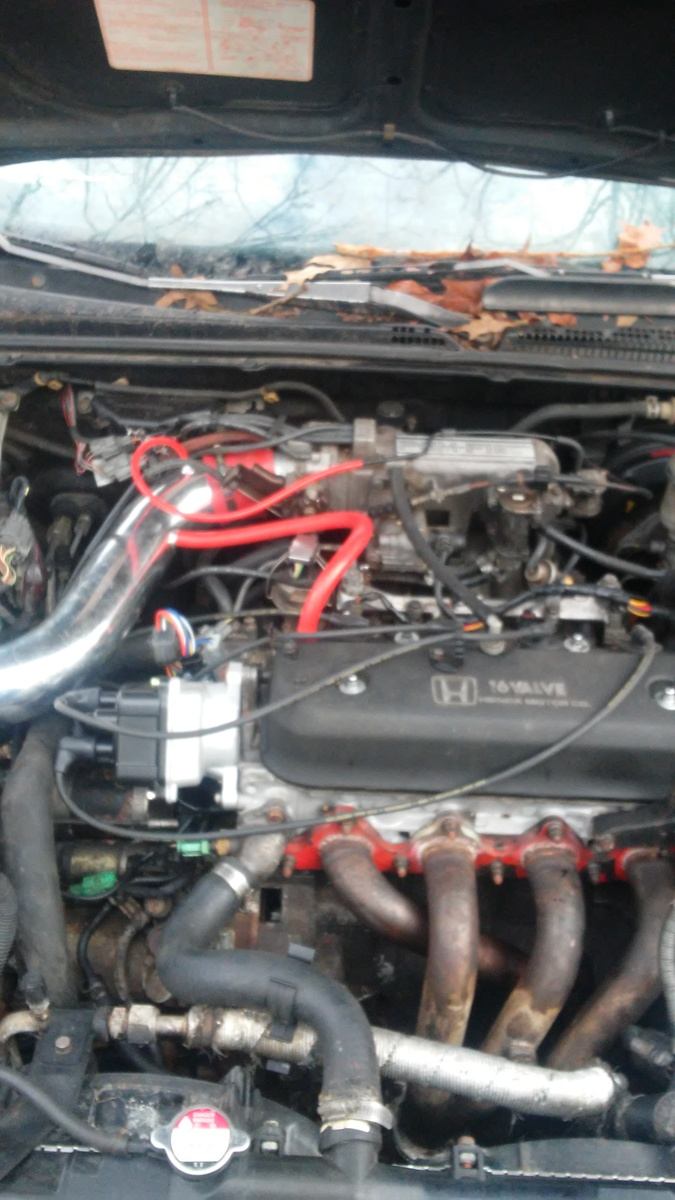 i also have a brand new distributor on it brand new spark plugs and spark  plug wires also replace the switch in the ignition switch still nothing  this car