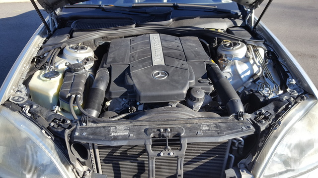 Picture of 2001 Mercedes-Benz S-Class S 430, engine, gallery_worthy
