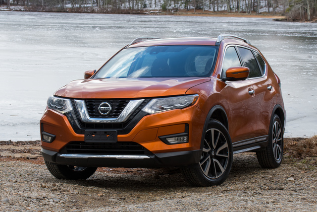 Nissan rogue awd review