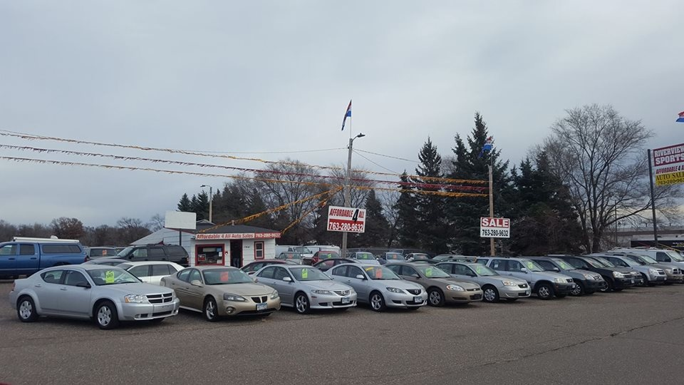 Affordable 4 All Auto Sales Elk River Mn Read Consumer