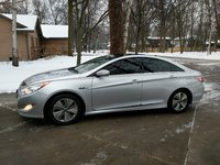 Picture of 2013 Hyundai Sonata Hybrid Limited w/Panoramic Sunroof, exterior, gallery_worthy