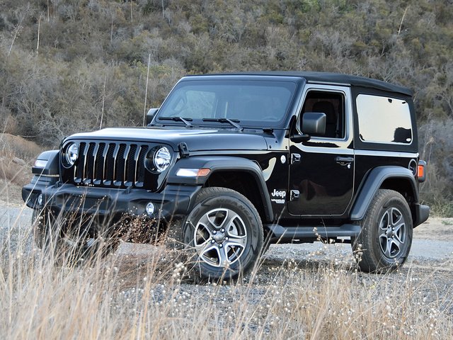 2018 Jeep Wrangler JL 2-door Sport S Black