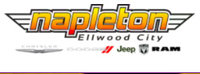 Napleton Ellwood City Chrysler Dodge Jeep RAM logo