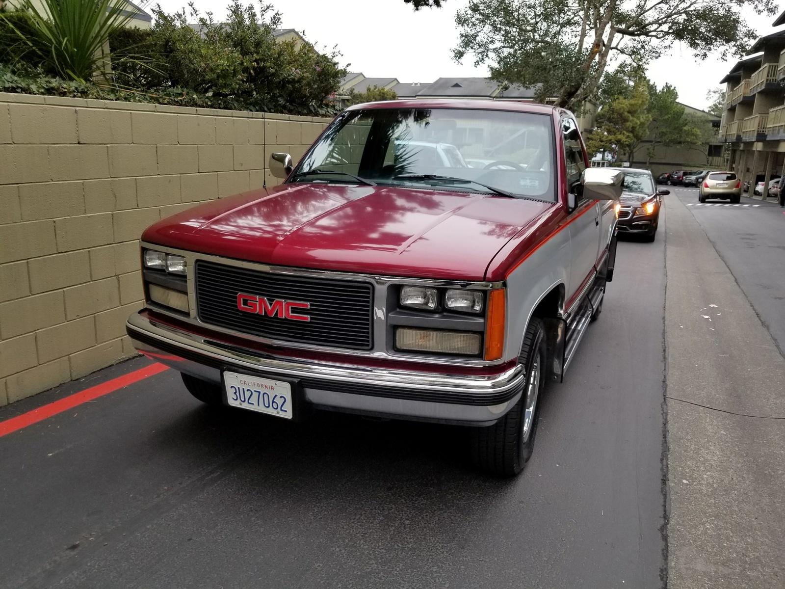 1989 Gmc Sierra 3500 - Overview