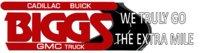 Biggs Buick Cadillac GMC logo