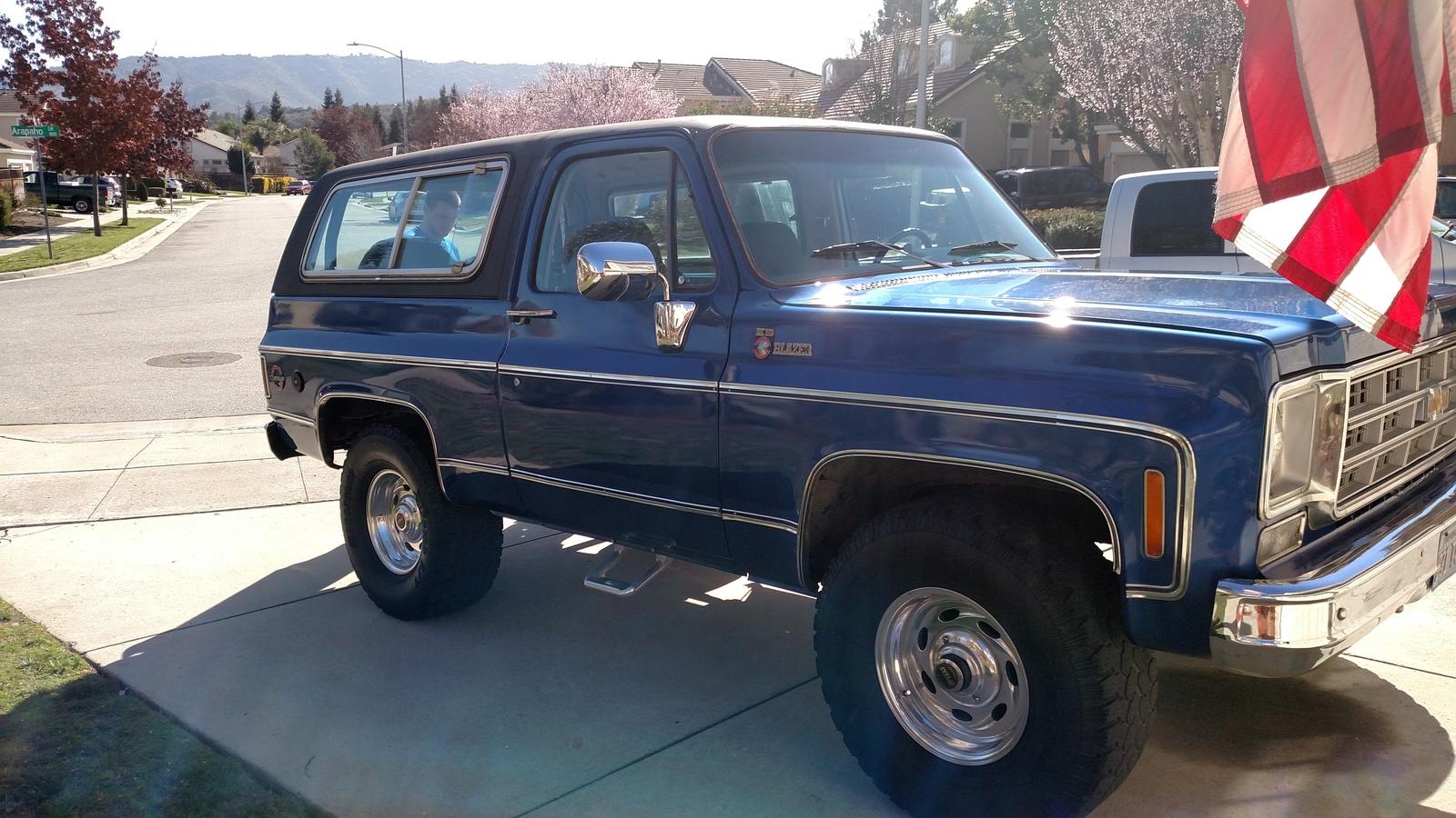 2018 K5 Blazer >> 1978 Chevrolet Blazer - Overview - CarGurus