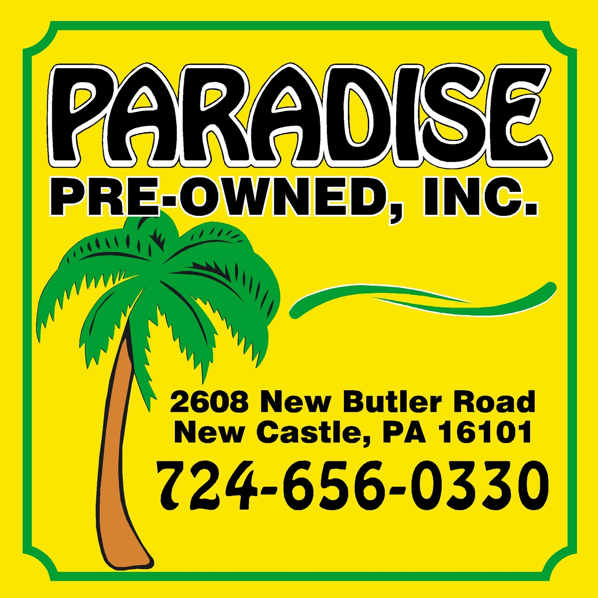 Paradise Pre Owned Inc New Castle Pa Read Consumer