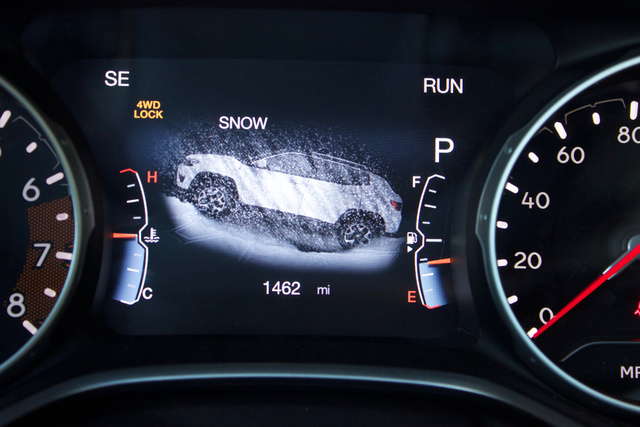 Wonderful Instrument Panel Of The 2018 Jeep Compass., Interior, Gallery_worthy Great Pictures
