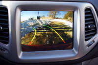 Reversing camera of the 2018 Jeep Compass., interior, gallery_worthy