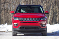 Front of the 2018 Jeep Compass., exterior, gallery_worthy