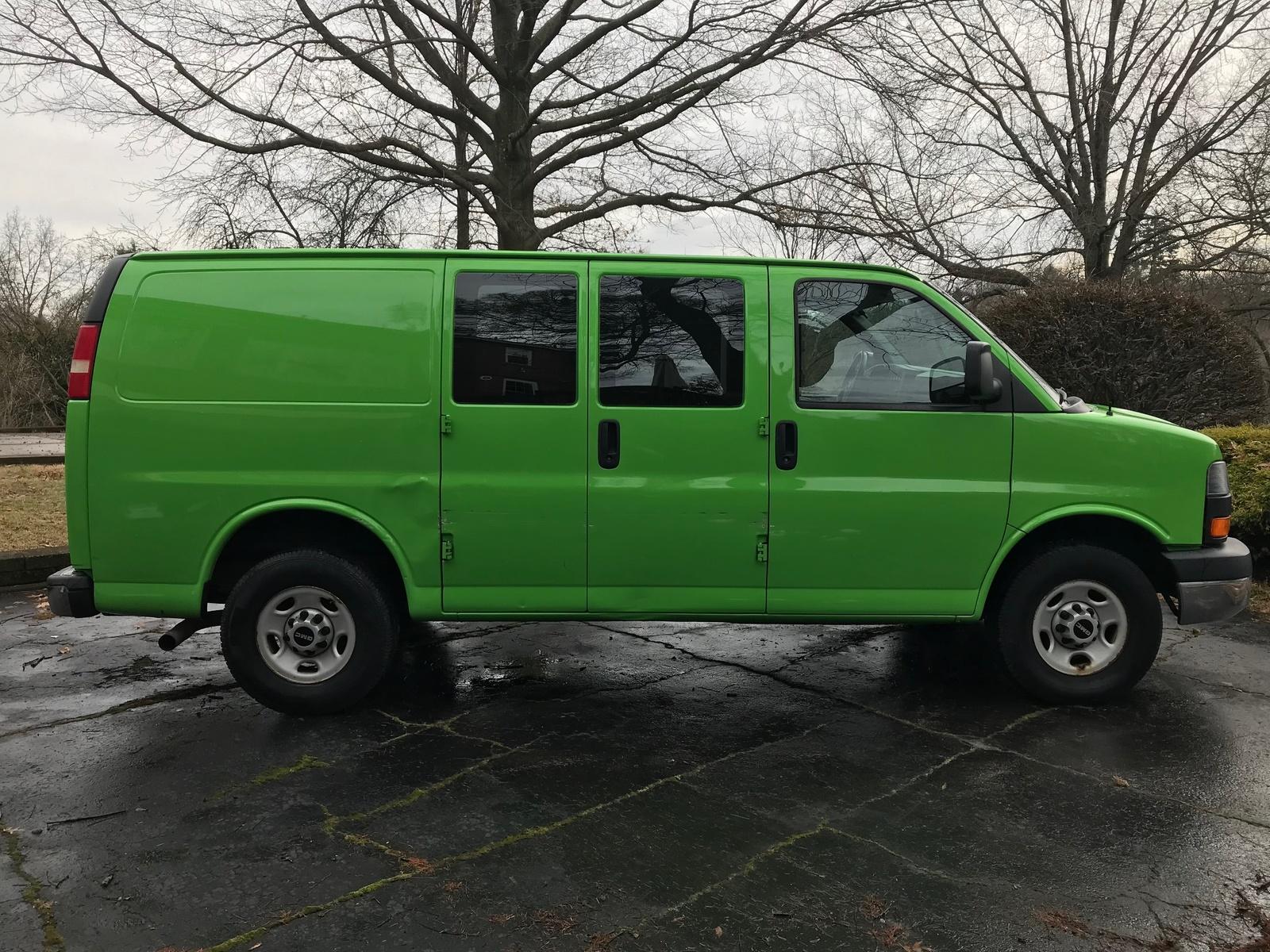 passenger van gmc exterior cargo header savana vans cutaway